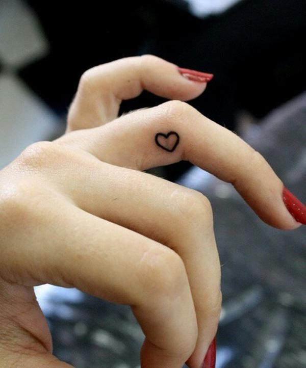 Small Heart Symbol Tattoo