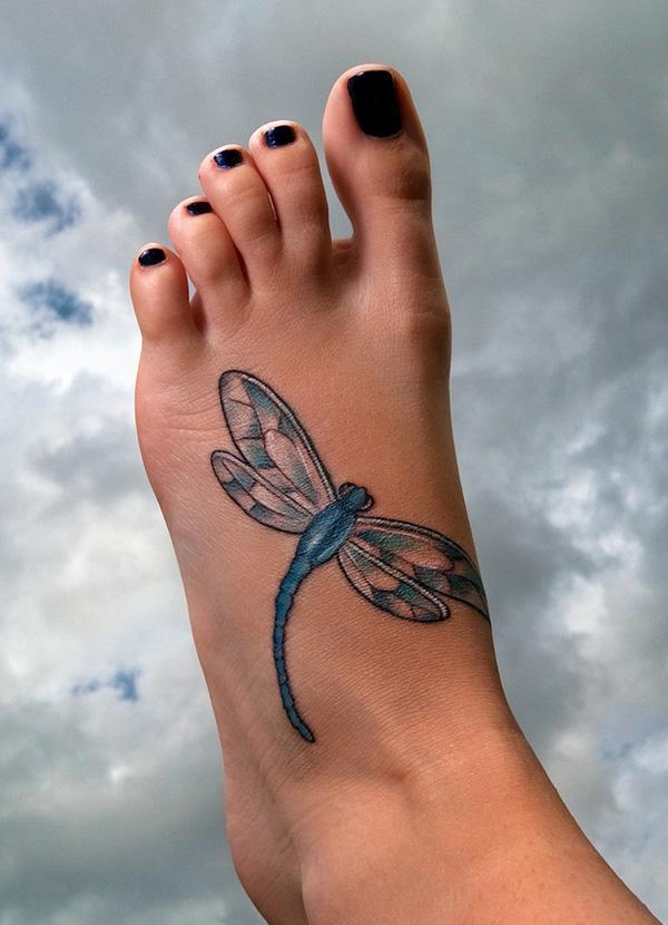 Dragonfly Tattoo Artist Bryan Hall 50 Tattoos For Women 3