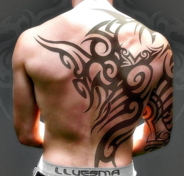 tiger tattoo lower back