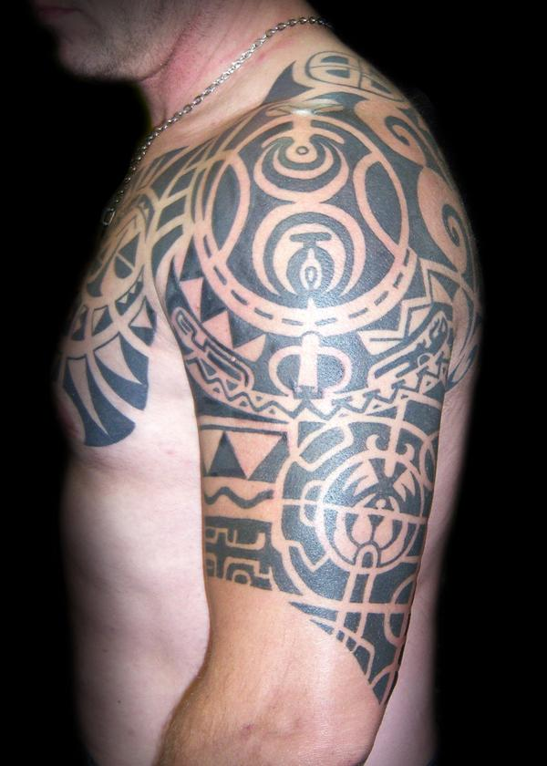 Maori Inspired Tattoos – Favorite Design For People Of Pacific
