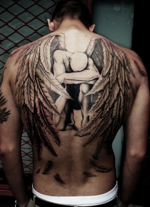 100 Awesome Back Tattoo Ιδέες