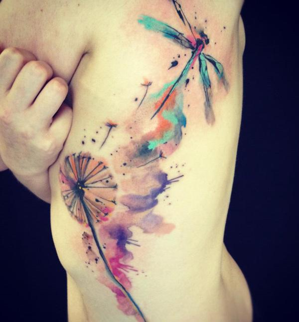 1a654bed6 50+ Dragonfly Tattoos for Women | Art and Design