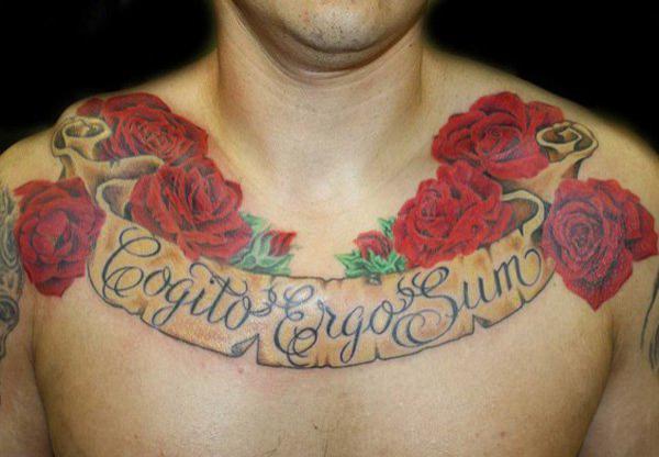 29720b327 75 Nice Chest Tattoo Ideas   Art and Design