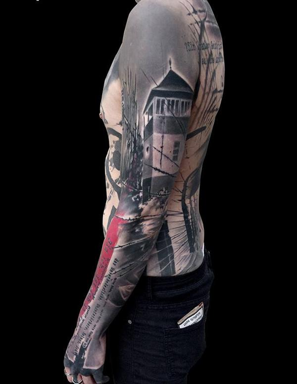 0c73f8f1ede04 Cool full sleeve tattoo - 95 Awesome Examples of Full Sleeve Tattoo Ideas <3  ...