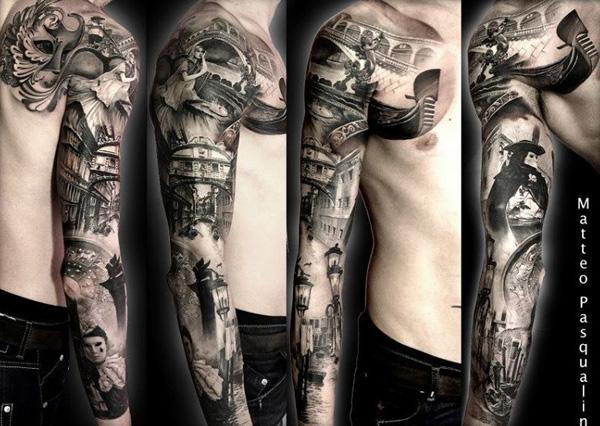7c1d623e025bb 95 Awesome Examples of Full Sleeve Tattoo Ideas | Art and Design