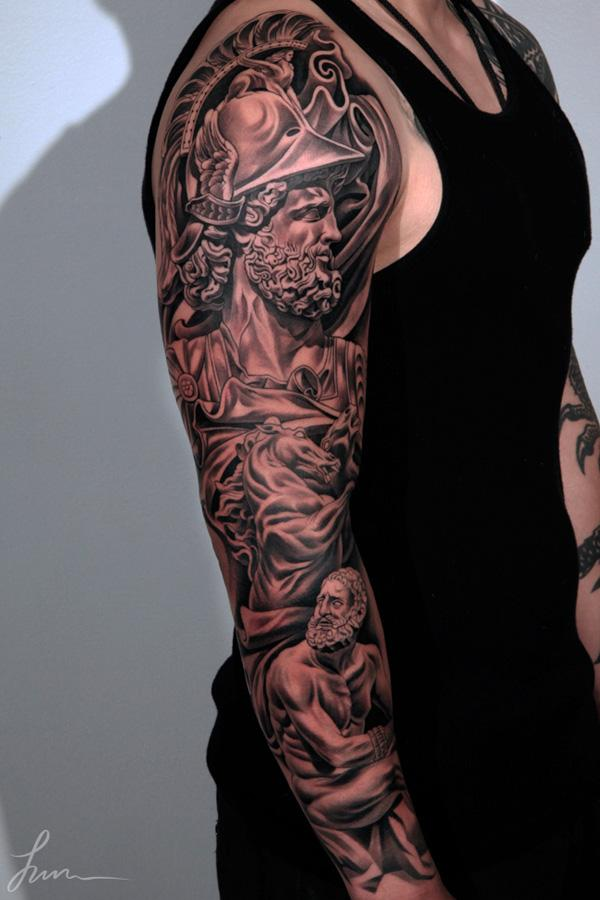 Related Keywords amp Suggestions For Lion Tattoo Full Sleeve