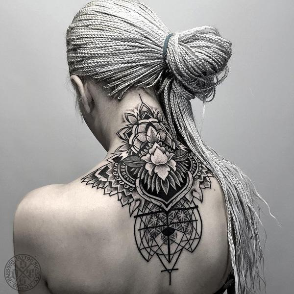 2f63d89b1 Awesome mandana neak tattoo - 60 Awesome Neck Tattoos ...