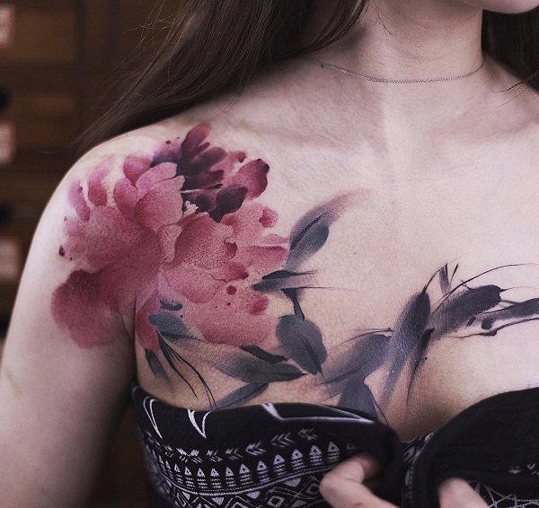 75 Nice Chest Tattoo Ideas
