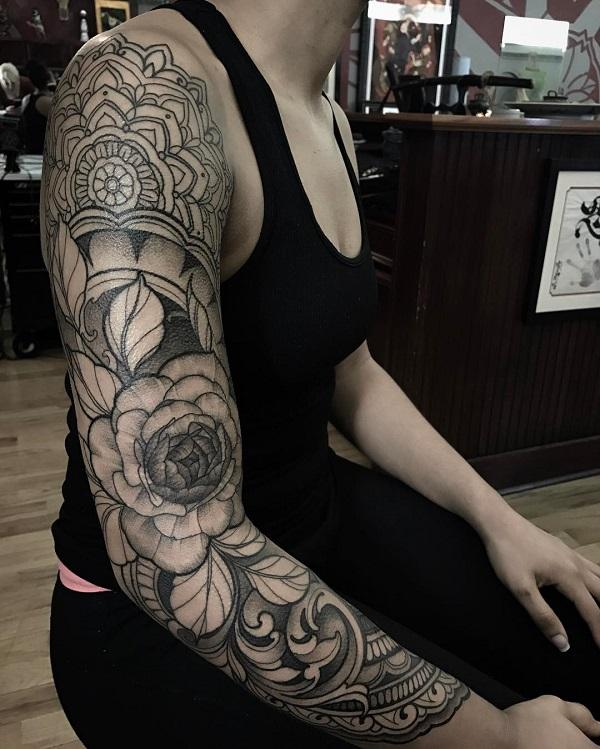 Tattoo Design Sleeve Girl Creative Types Of Interior Design