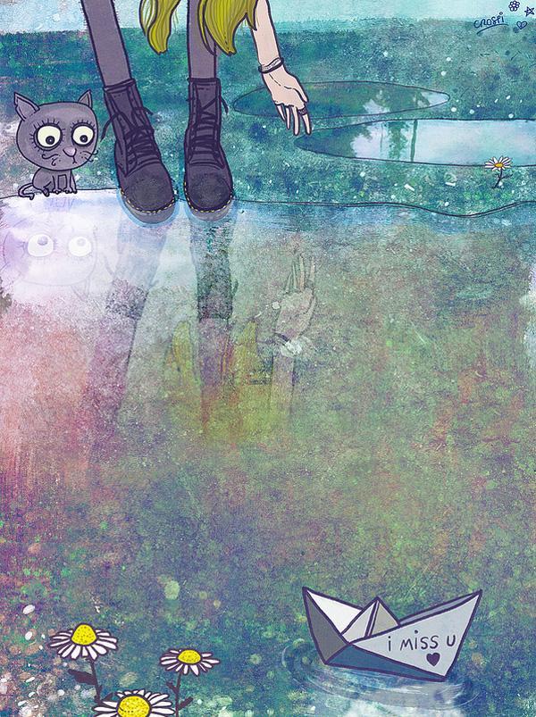 whimsical kids illustrations by christina tsevis art and design