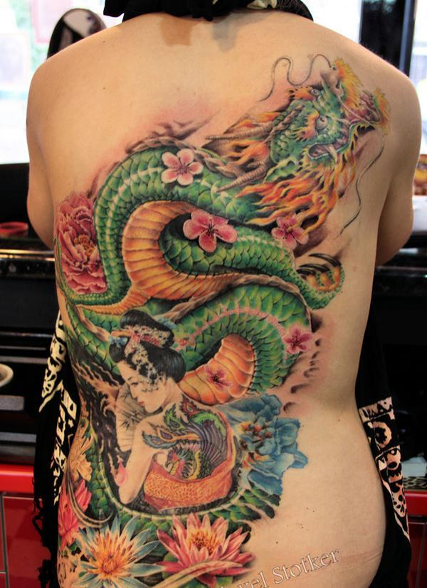a99ff78d8 55+ Awesome Japanese Tattoo Designs | Art and Design