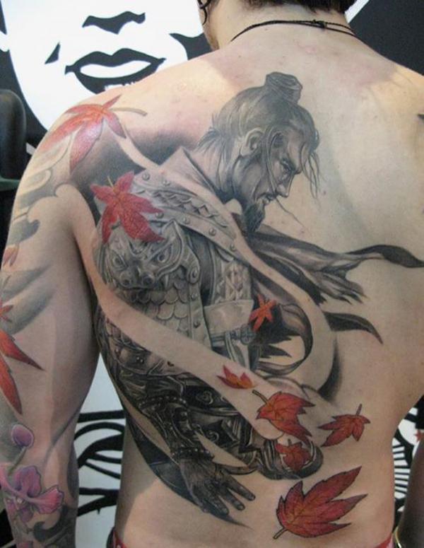 Japanese Warrior Sleeve Tattoo Designs Japanese Warrior Tattoo
