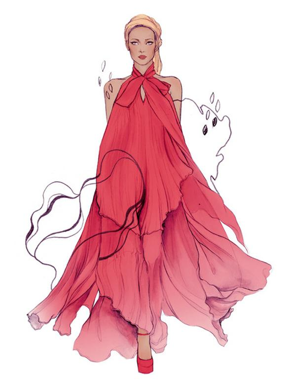 50 Amazing Fashion Sketches | Art and Design