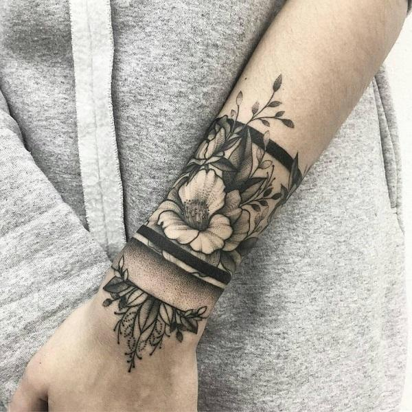 50 eye catching wrist tattoo ideas art and design amazing flower wrist tattoo 50 eye catching wrist tattoo ideas gumiabroncs Images