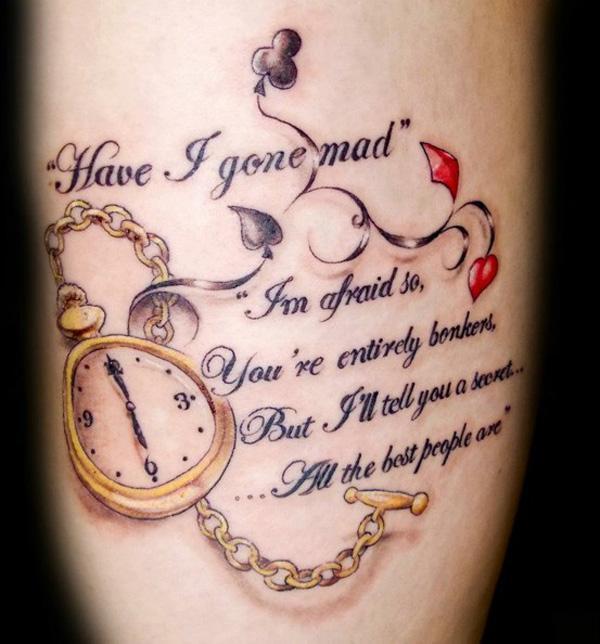 70 + Inspirational Tattoo Zitate
