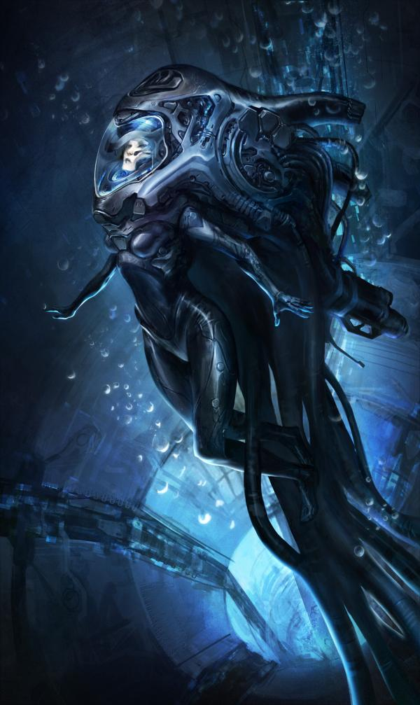 Awesome Sci Fi Characters By Joe Peterson Art And Design