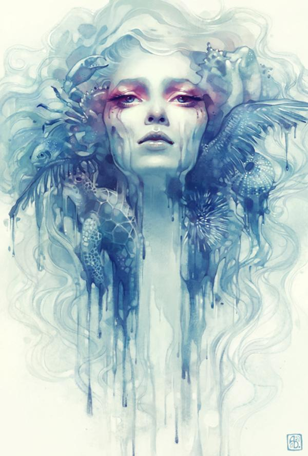Digital Painting by Anna Dittmann | Art and Design