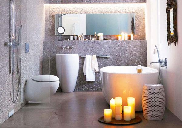 Stunning small bathroom Cozy Small Bathroom Ideas uc uc