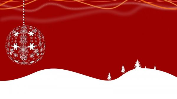 14 red white christmas wallpaper with snow600 337
