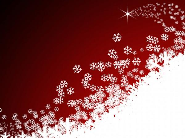50 Red Christmas Wallpapers | Art and Design