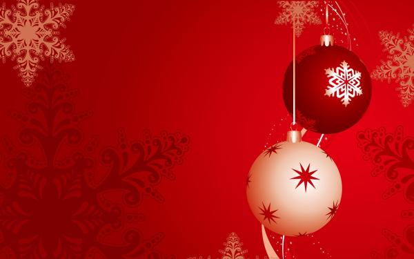 Red And White Christmas Globes Wallpaper 50 Wallpapers 3