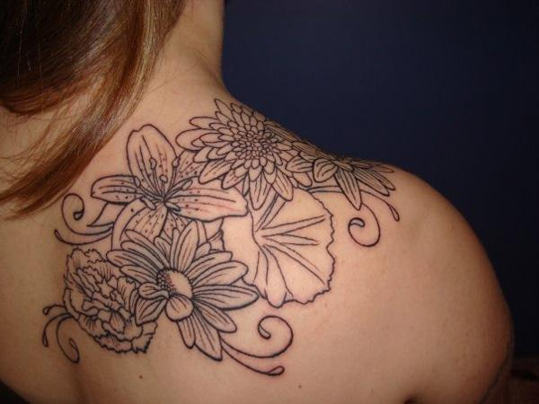 Flower Tattoo On Shoulder 70 Awesome Tattoos 3