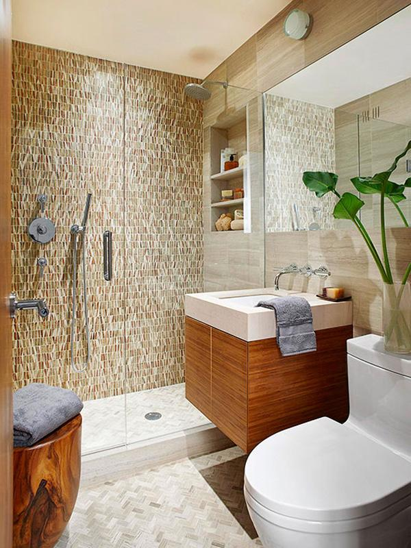 Elegant small bathroom Cozy Small Bathroom Ideas uc uc