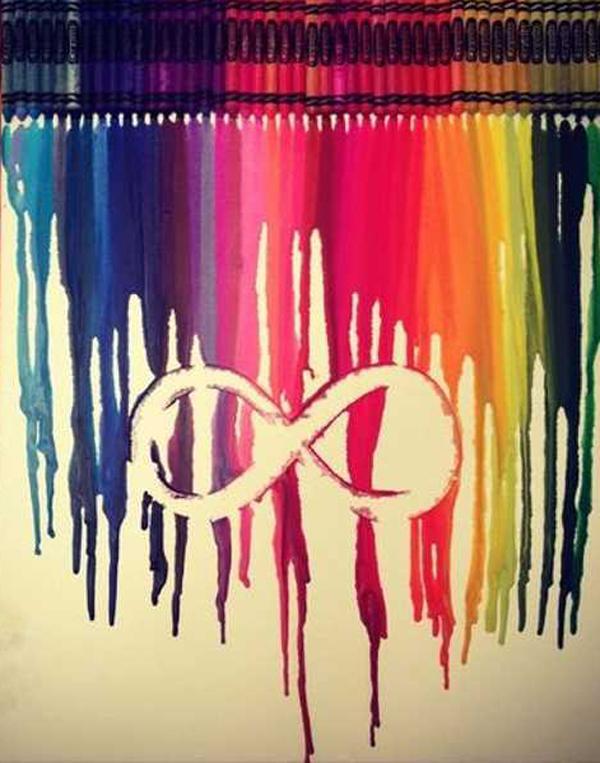 Watercolor Infinity Symbol