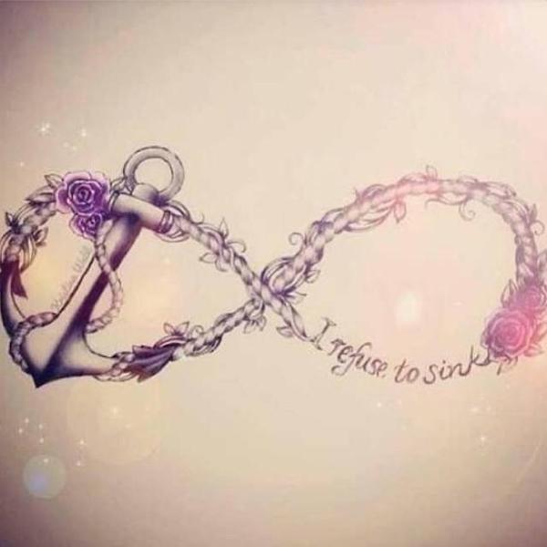 Infinity Symbol Tattoo Design