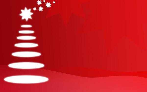50 Red Christmas Wallpapers