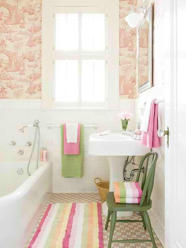 Vintage small bathroom Cozy Small Bathroom Ideas uc uc