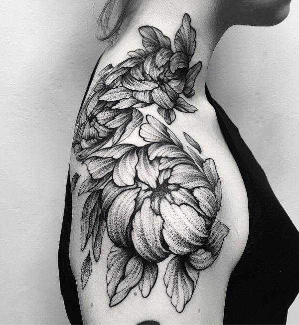 70 awesome shoulder tattoos art and design flower shoulder tattoo mightylinksfo