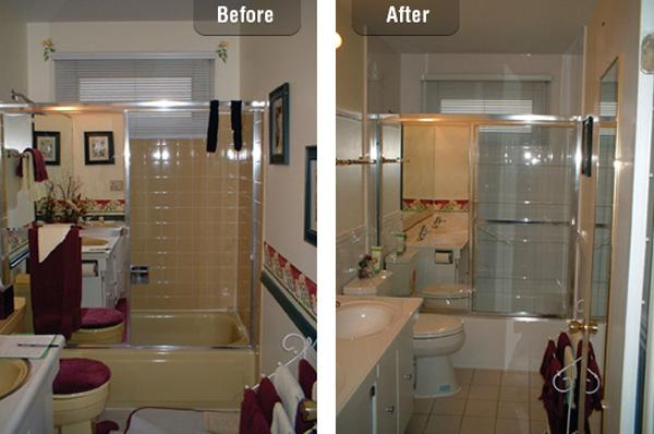 bathroom remodel before and after - 55+ Bathroom Remodel Ideas 3> !
