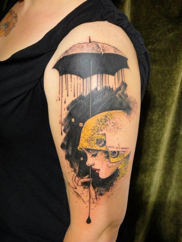 4871351cd89a8 Watercolor tattoo. Watercolor tattoo - 65+ Examples of Watercolor Tattoo <3  ...