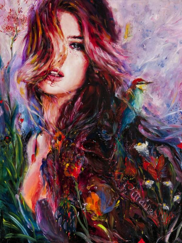 Charmaine Olivia - Paintings by Charmaine Olivia  <3 <3