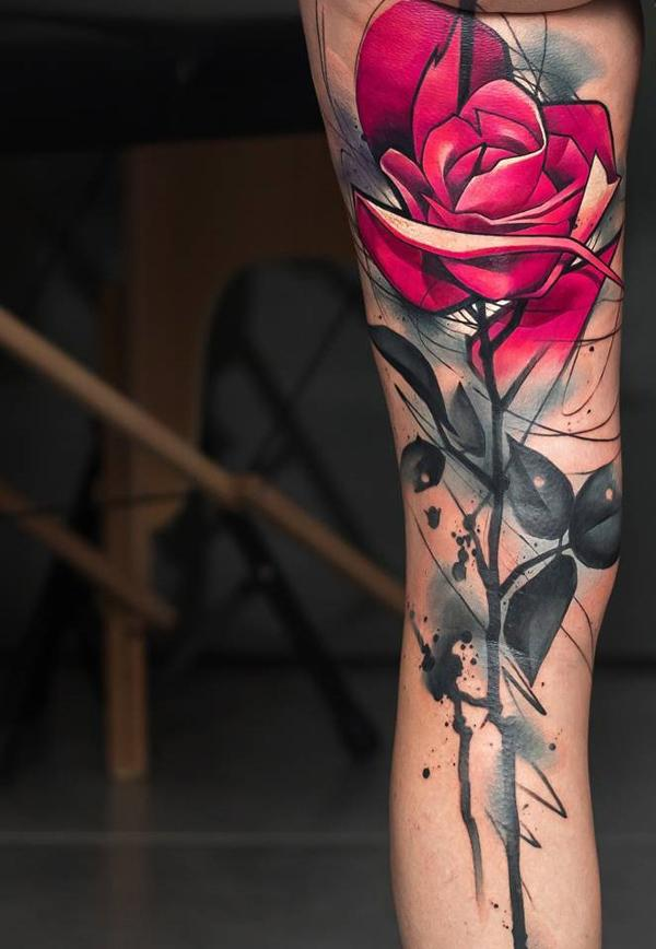 60 Incredible Leg Tattoos Art And Design
