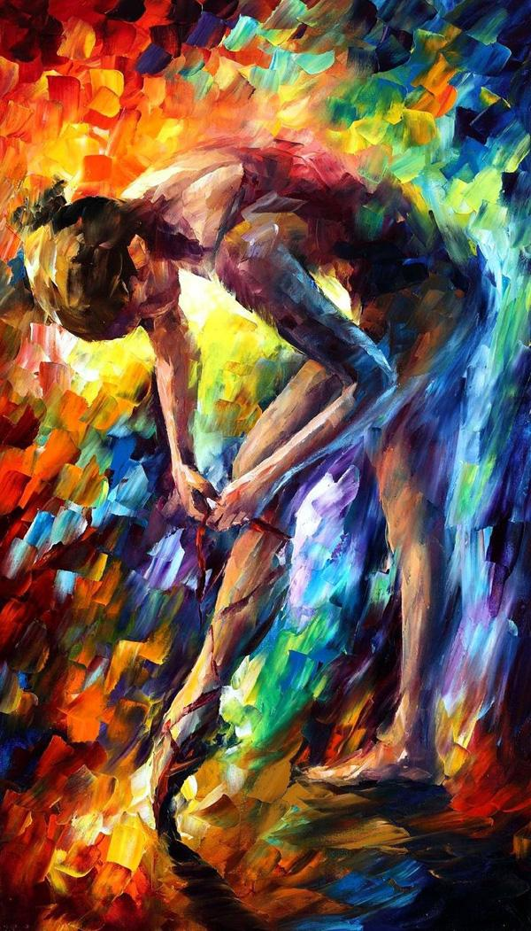 ballerina by leonid afremov amazing paintings by leonid afremov u003c3 u003c3