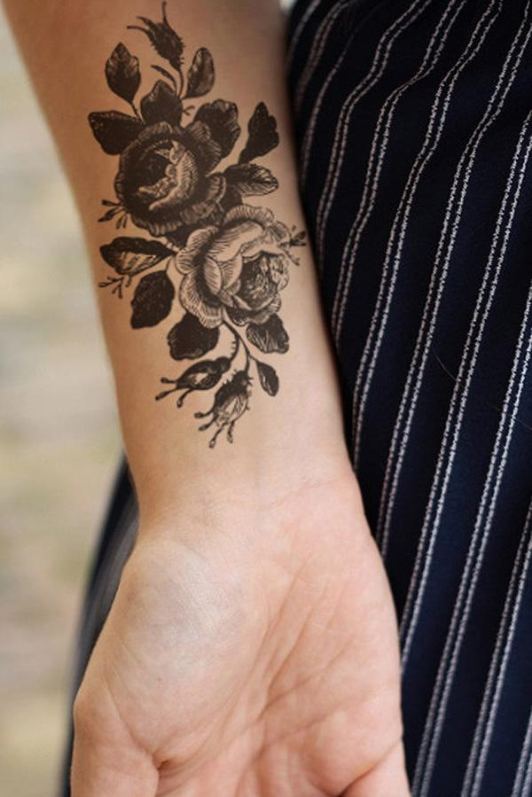 large henna tattoo designs