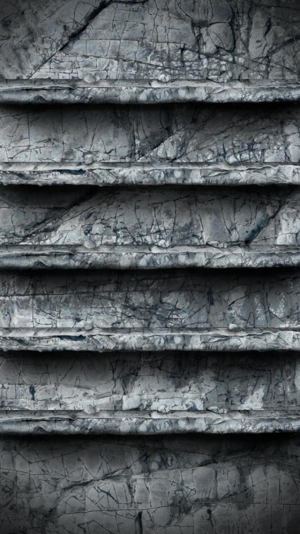 Iphone5 Stone Shelves Wallpaper