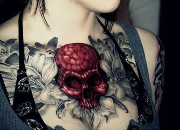 65 tattoos for women art and design skull and flower tattoo for women 65 tattoos for women 3 3 urmus Images