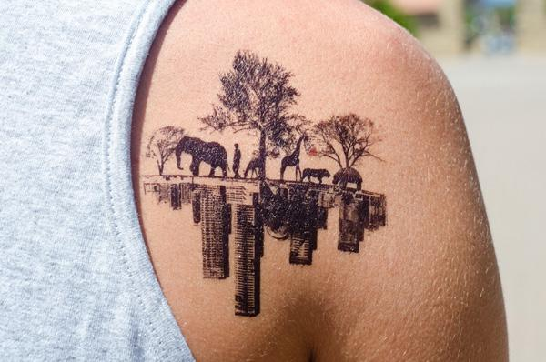Painless Temporary Tattoos Art And Design