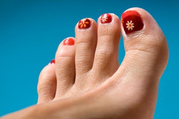 toe flowers 30 toe nail designs