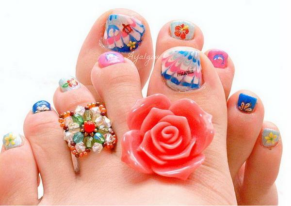 Beautiful Toe Nail Art Designs - 30+ Toe Nail Designs <3 <3