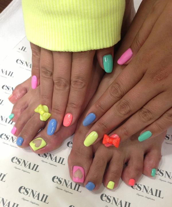 Cute colorful nails - 40+ Cute Nail Designs Art And Design