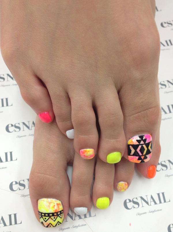 30+ Toe Nail Designs   Art and Design