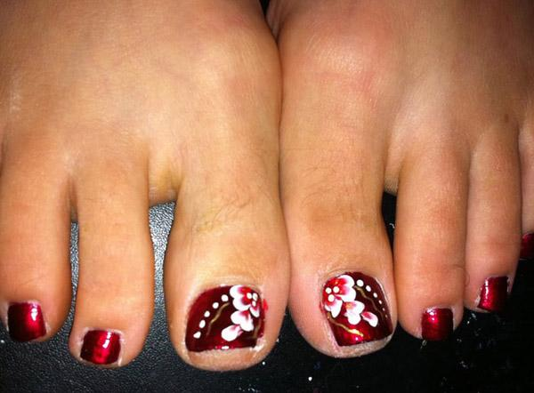 30 Toe Nail Designs Art And Design