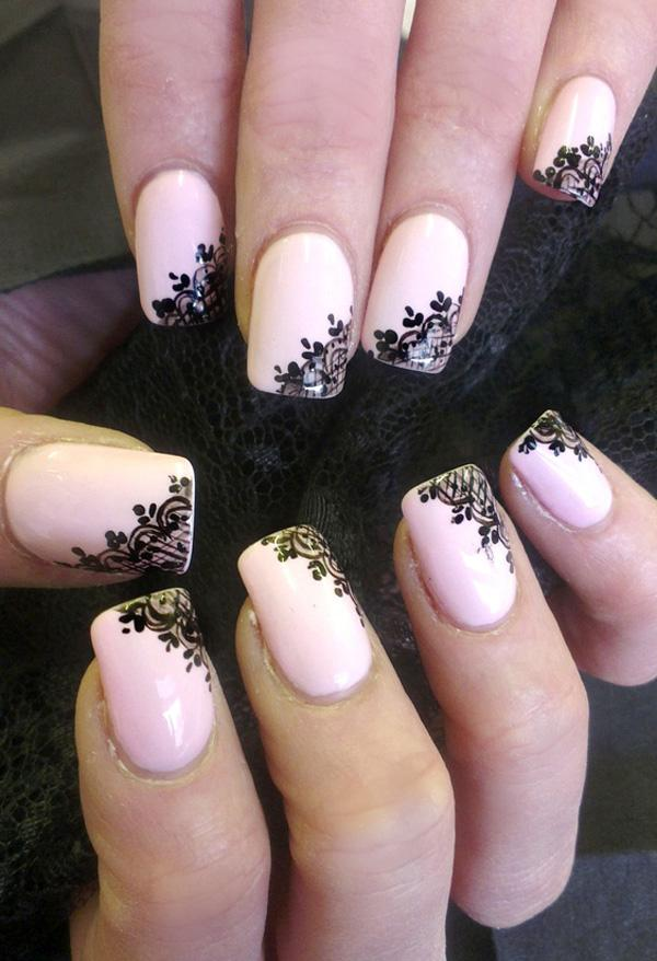 lace nails - 35 Unique Nail Designs <3 <3 ... - 35 Unique Nail Designs Art And Design