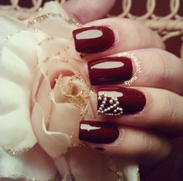 Discover lifestyle valentines day nail designs rose nail artg prinsesfo Image collections