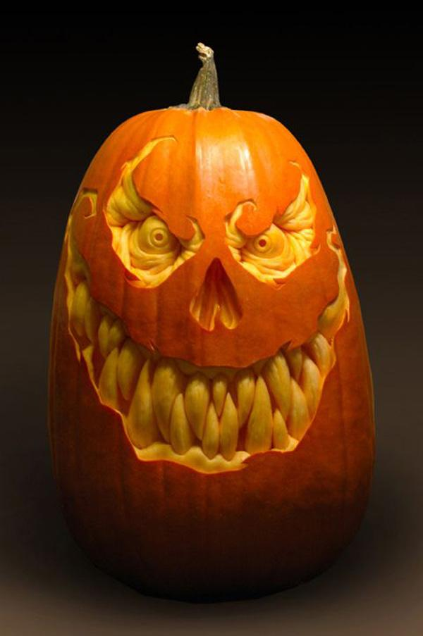 Cool Pumpkin Designs Part - 45: For Instance, Get Inspired By The Picture Of Well-known Personalities.