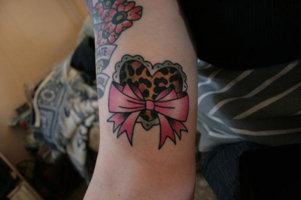 Cheetah print bow tattoo designs 30 cheetah and leopard print tattoos